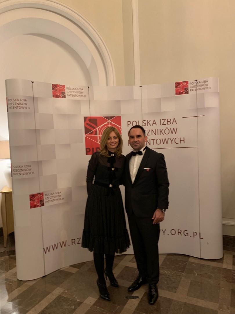 Gala 100 - lecia zawodu rzecznika Patentowego w dniu 25.11.2018
